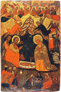 Nativity, Efstathios of Ioannina, 1638